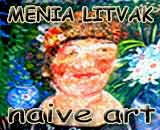 Gallery of artist Menia Litvak. Naive art.