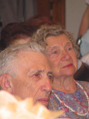 Хаим Венгер и Сусанна Шендерович-Сапожникова