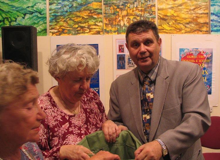 Григорий Фильковский, Бина Смехова и Сусанна Шендерович начинают традиционную  благотворительную лотерею