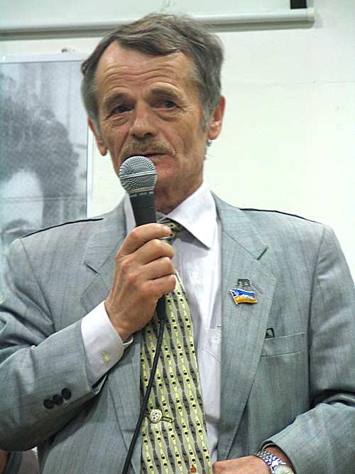 Представитель крымско-татарского народа правозащитник  Мустафа Джамилев