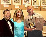 Вручение награды Дома Януша Корчака миссис Джоан Кетлин Роулинг в присутствии мэра Иерусалима Ури Луполянского