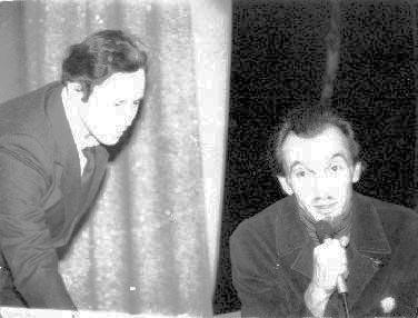 Фотография 1985 года, на которой мы вместе во время творческой встречи с Владимиром Леви в ДК МИИТа