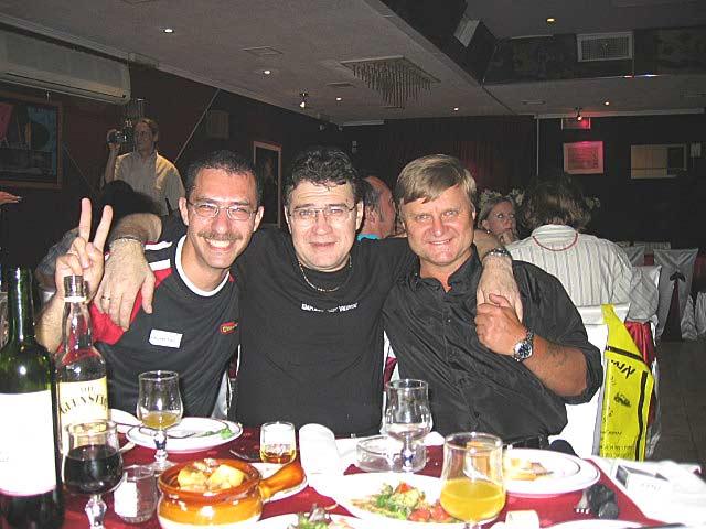 Александр Альт, Женя Уран и Майк Бильковский (фото от Майка)
